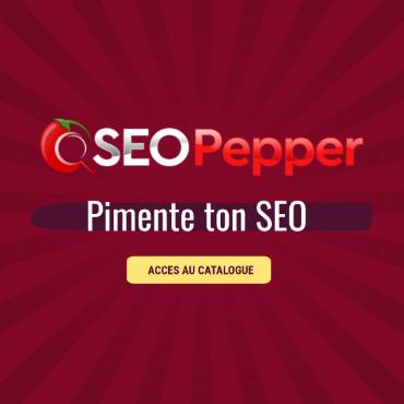 SEOPepper - Plateforme de Netlinking